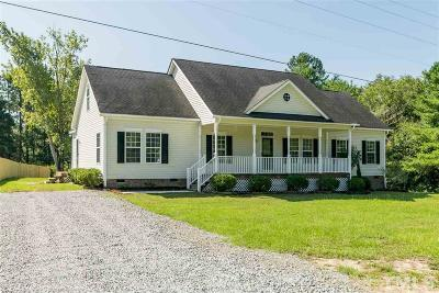Angier Single Family Home For Sale: 1219 Ridge Road