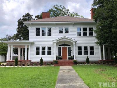 Harnett County Single Family Home For Sale: 107 N Watauga Avenue