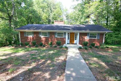 Sanford NC Single Family Home For Sale: $189,900