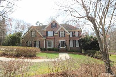 Wake County Single Family Home For Sale: 12301 Lockhart Lane