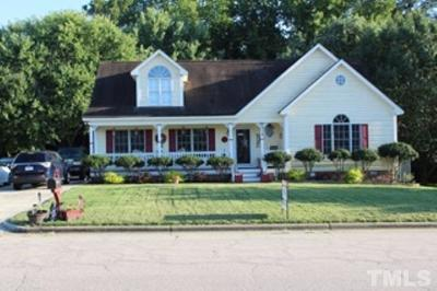 Wake Forest NC Single Family Home For Sale: $319,999