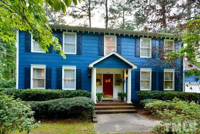Durham Single Family Home For Sale: 3822 Hope Valley Road