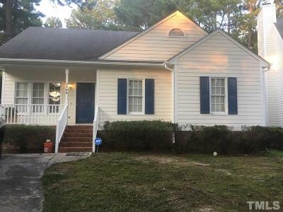 Raleigh Single Family Home Pending: 2708 Clonnel Court