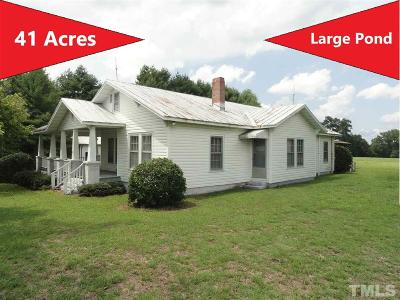 Johnston County Single Family Home For Sale: 6270 Meadowbrook Road
