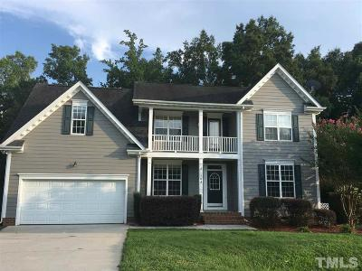 Clayton Single Family Home For Sale: 704 Sarazen Drive