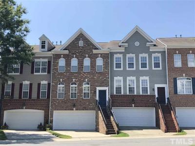 Raleigh Townhouse For Sale: 4128 Earl Grey Court