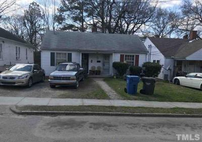 Wake County, Durham County, Orange County Multi Family Home For Sale: 915 Park Avenue