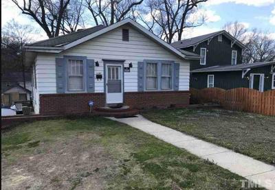 Durham Single Family Home For Sale: 1107 Park Avenue