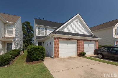 Raleigh Townhouse Pending: 5215 Eagle Trace Drive