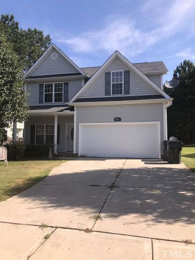 Wendell Single Family Home For Sale: 209 Hoyleholly Trace