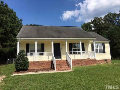 Johnston County Rental For Rent: 105 Pinto Lane