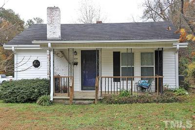 Durham Single Family Home For Sale: 206 N Adams Street