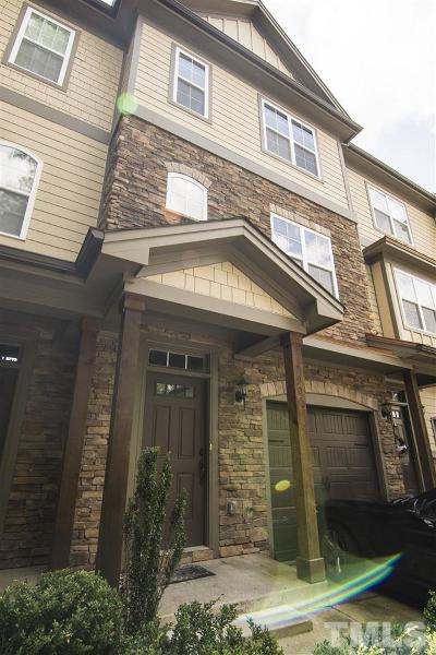 Raleigh Townhouse For Sale: 7905 Dukes Dynasty Drive