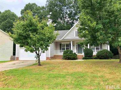 Johnston County Rental For Rent: 209 Sarazen Drive