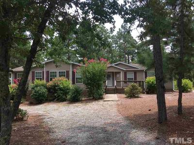 Harnett County Manufactured Home For Sale: 41 Ridge View Drive
