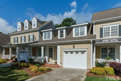 Wake Forest Townhouse For Sale: 1216 Fairview Club Drive