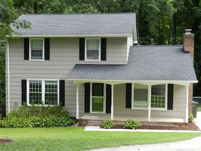 Raleigh Single Family Home For Sale: 5700 Wintergreen Drive