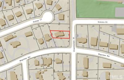 Wake County Residential Lots & Land For Sale: 905 Chamberlain Street
