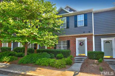 Raleigh Townhouse For Sale: 4402 Still Pines Drive