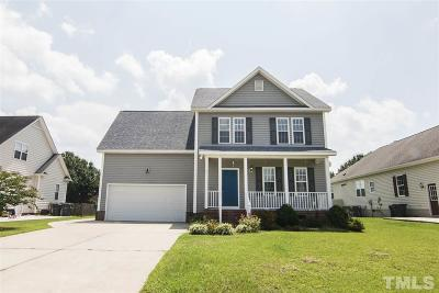 Angier Single Family Home Pending: 60 Kerrylane Drive