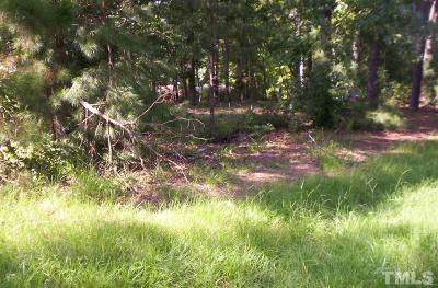 Chatham County Residential Lots & Land For Sale: 968 Chatham Church Road