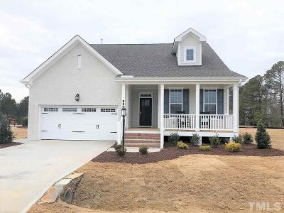 Wake Forest Single Family Home For Sale: 8601 Hugget Lane #01
