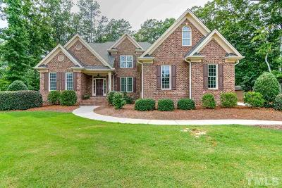Fuquay Varina Single Family Home Contingent: 5112 Shirland Road