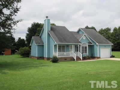 Angier Single Family Home Contingent: 4215 Neills Creek Road