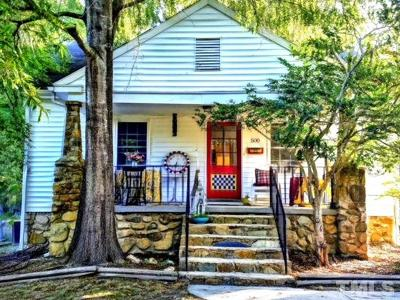 Carrboro Single Family Home For Sale: 500 Hillsborough Road