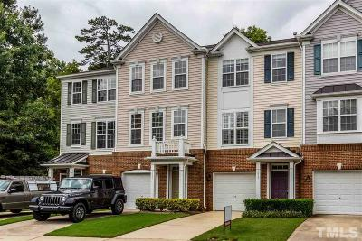 Raleigh Townhouse For Sale: 1658 Brook Fern Way