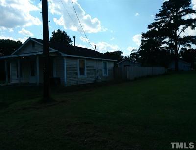 Harnett County Single Family Home For Sale: 102 2nd Street