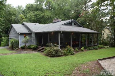 Wake County Single Family Home For Sale: 9429 Woodlief Road