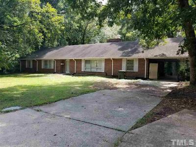 Durham Single Family Home For Sale: 419 Monticello Avenue