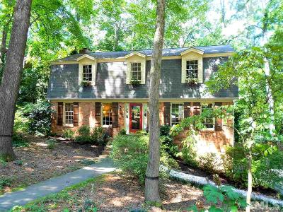 Raleigh Single Family Home For Sale: 4509 Bartlett Drive