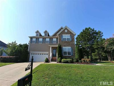 Knightdale Single Family Home For Sale: 5300 Sapphire Springs Drive