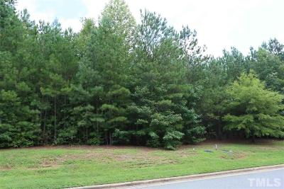 Chapel Hill Residential Lots & Land For Sale: 642 The Preserve Trail