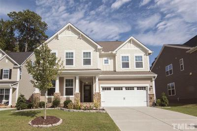Wake County Single Family Home For Sale: 1837 Flint Valley Lane