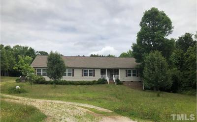 Louisburg Single Family Home For Sale: 163 Evans Road