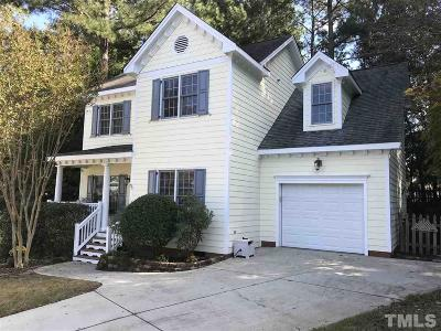 Apex Single Family Home For Sale: 93 Rushing Wind Way