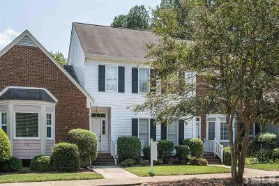Raleigh Townhouse For Sale: 124 Skylark Way