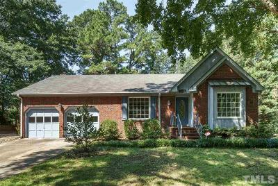 Raleigh Single Family Home For Sale: 5205 Sweetbriar Drive