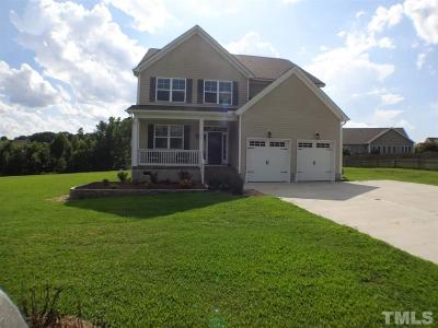 Wake Forest NC Single Family Home For Sale: $325,000