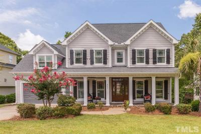 Holly Springs Single Family Home For Sale: 609 Wescott Ridge Drive