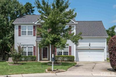Single Family Home For Sale: 8637 Neuse Stone Drive