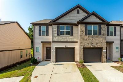 Holly Springs Townhouse For Sale: 106 Bella Place