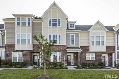 Cary Townhouse For Sale: 4142 Strendal Drive