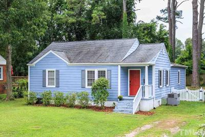 Raleigh Single Family Home For Sale: 706 Penn Road