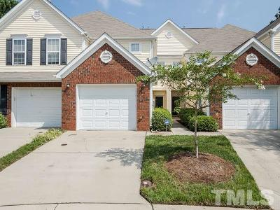 Raleigh Townhouse For Sale: 2633 Hamlet Green Drive