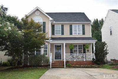 Raleigh Single Family Home For Sale: 1533 Crag Burn Lane