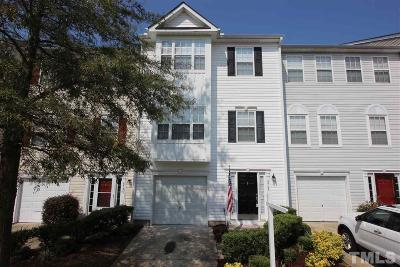 Raleigh Townhouse For Sale: 8707 River Keeper Way